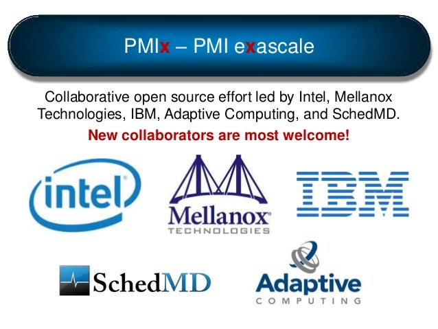 PMIx Updated Overview Slide 2