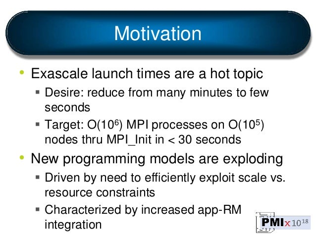 PMIx Updated Overview Slide 3