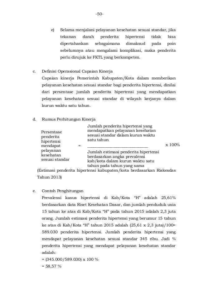 Download Permenkes Nomor 43 Tahun 2016 Tentang SPM Bidang Kesehatan.