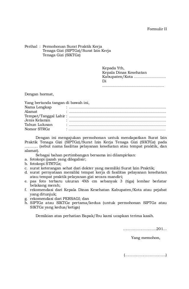 Pmk No 26 Ttg Pekerjaan Dan Praktik Tenaga Gizi