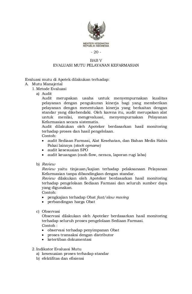 Pmk No 35 2014 Standar Yan Far Di Apotek