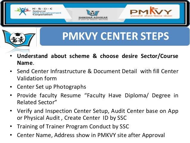 Pmkvy 2.0  2016
