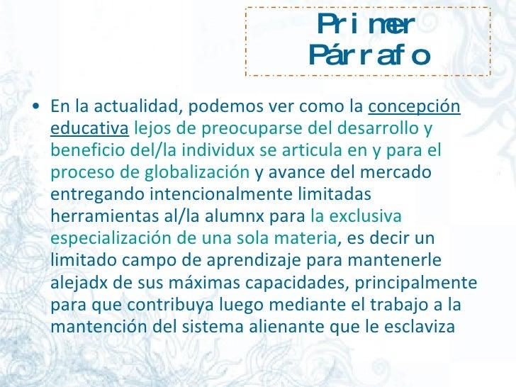 Pml. La EducacióN Libre Slide 2
