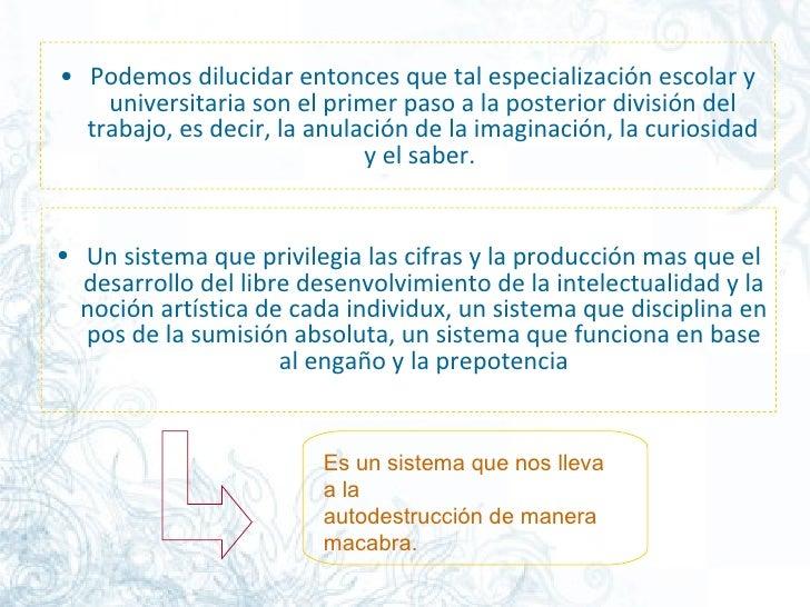 Pml. La EducacióN Libre Slide 3