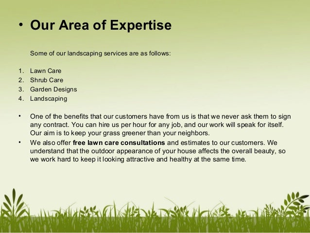 P mlandscaping company profile for Landscaping companies
