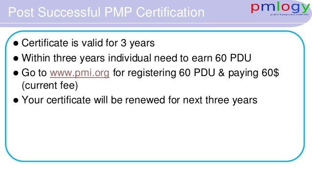 Introduction to PMI and PMP