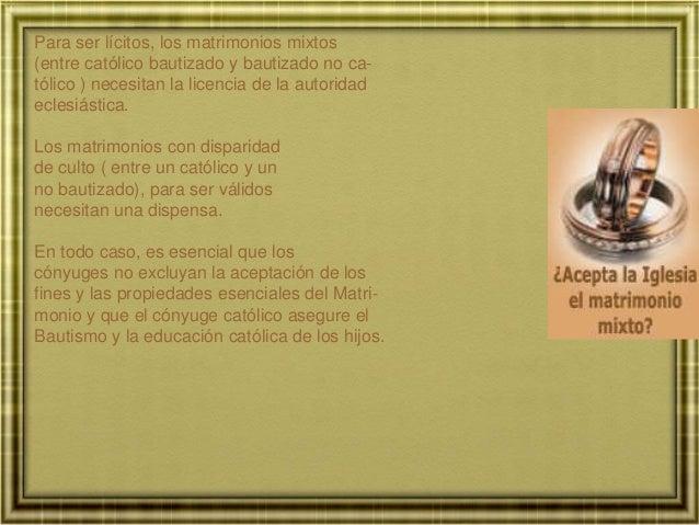 Matrimonio Catolico Por Disparidad De Culto : Pmnf tema