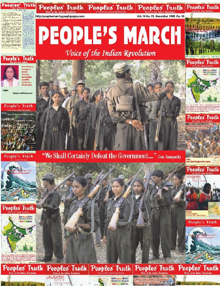 """""""We Shall Certainly Defeat the Government""""     In this interview, taken from the October 17, 2009 issue of 'Open', Ganapat..."""
