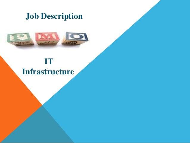 infrastructure manager job description