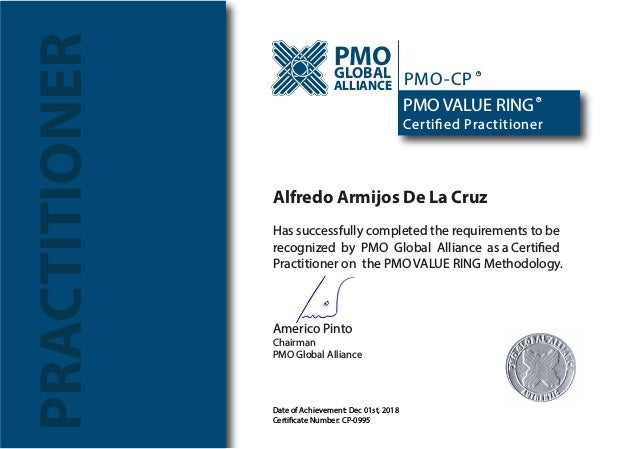 certificate pmo cp slideshare certified upcoming number