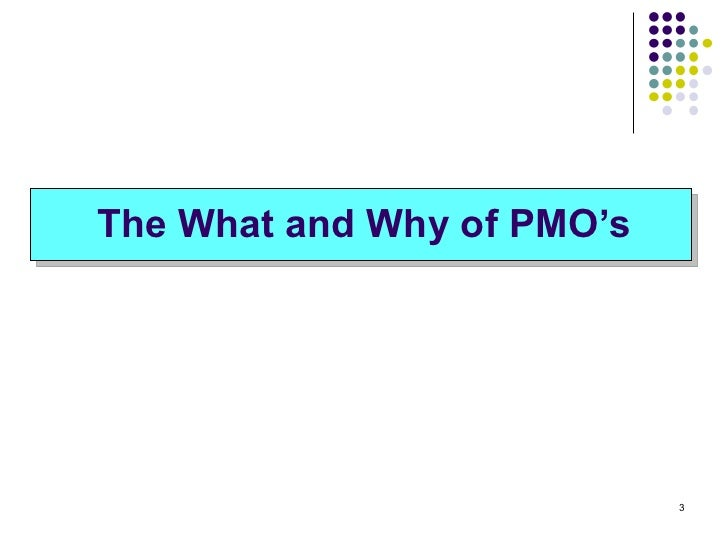 pmo presentation An epmo is an integral part of the enterprise project management (pm) system: with a proper pm methodology and process in place and enforced, projects have a higher chance for success.