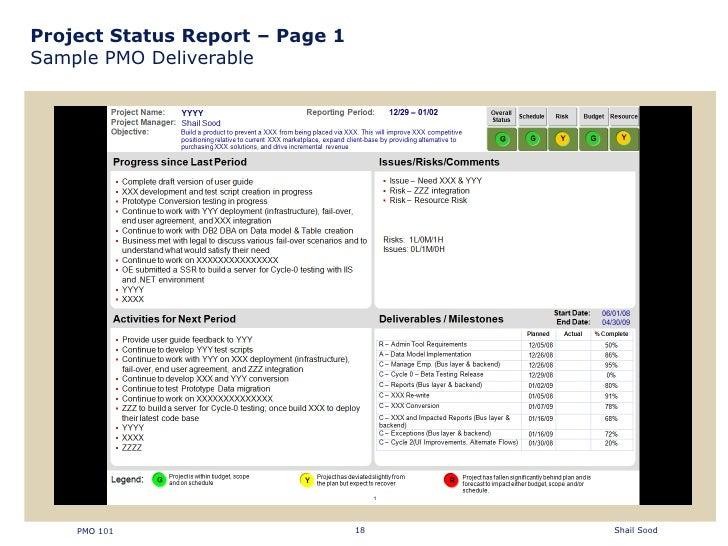milestone report example