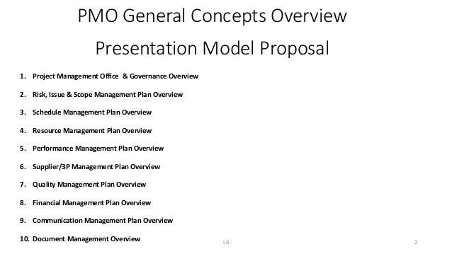 PMO - Strategic Model & Concepts Overview Slide 2