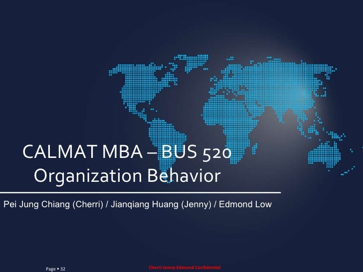 bus 520 leadership and organizational behavior View essay - bus 520 assisgnment 1 from business 520 at strayer university   bus520: leadership and organizational strayer university fatumata fofana   to be the traditional measure of intelligence, ignoring essential behavioral and.