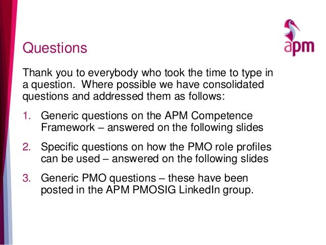 Questions Thank you to everybody who took the time to type in a question. Where possible we have consolidated questions an...