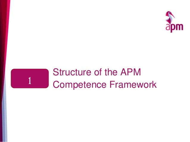 Structure of the APM Competence Framework1