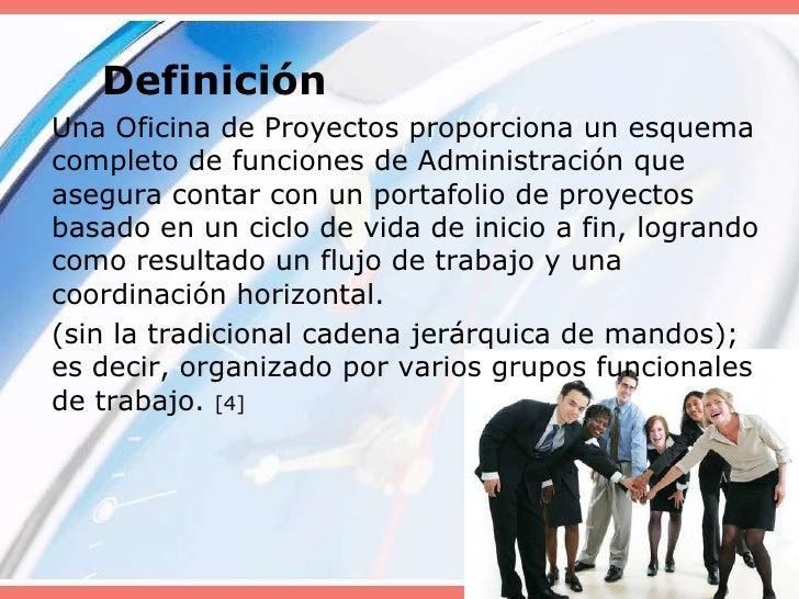 Pmo project management office for Practica de oficina definicion