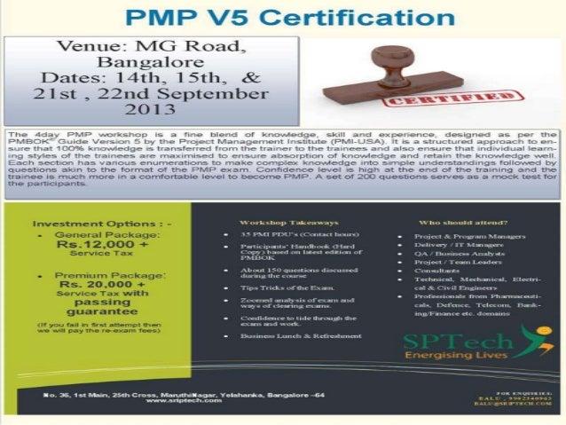 PMP V5 Certification