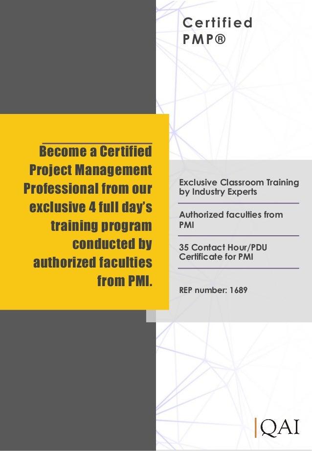 Pmp Course Catalogue