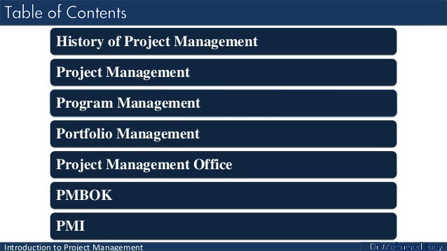 PMP Lecture 1: Introduction to Project Management Slide 2