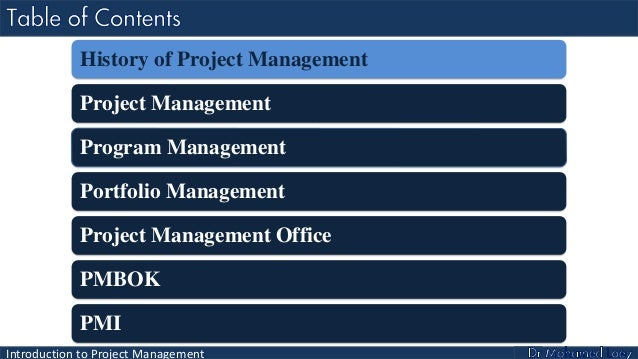 PMP Lecture 1: Introduction to Project Management Slide 3