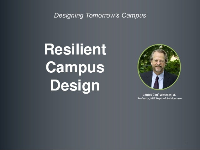 Afternoon Panel Designing Tomorrow S Campus Resiliency