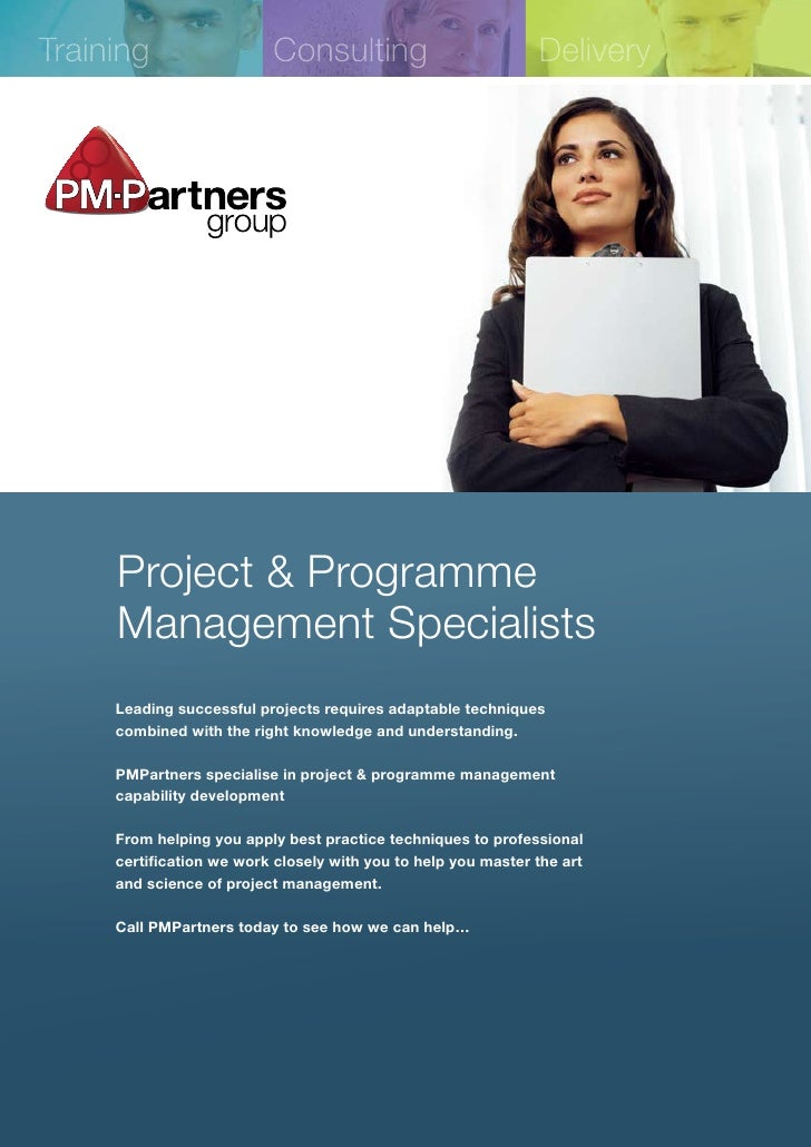 Training                  Consulting                           Delivery          Project & Programme      Management Speci...