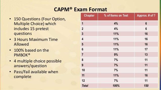 Pmp Capm Exam Preparation