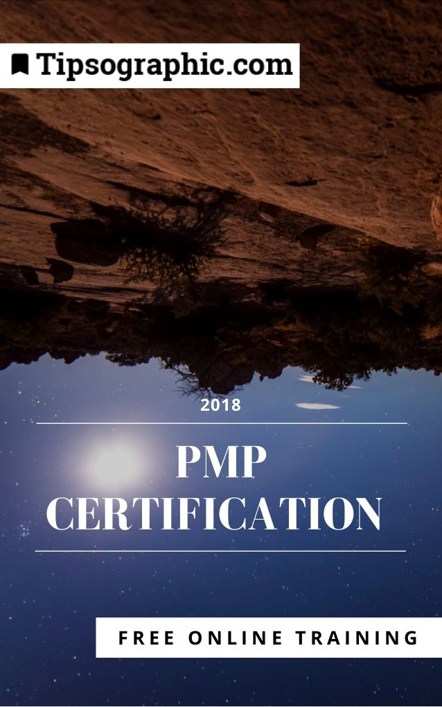 Pmp Certification 2018 Free Online Training Based On Pmbok6 Ht
