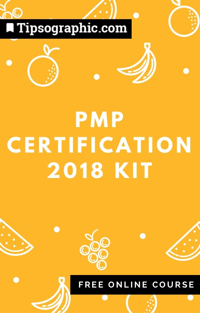 pmp certification 2018 kit — free online course (based on #pmbok6) →…