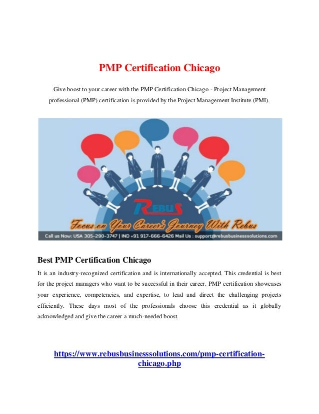 Pmp Certification Chicago