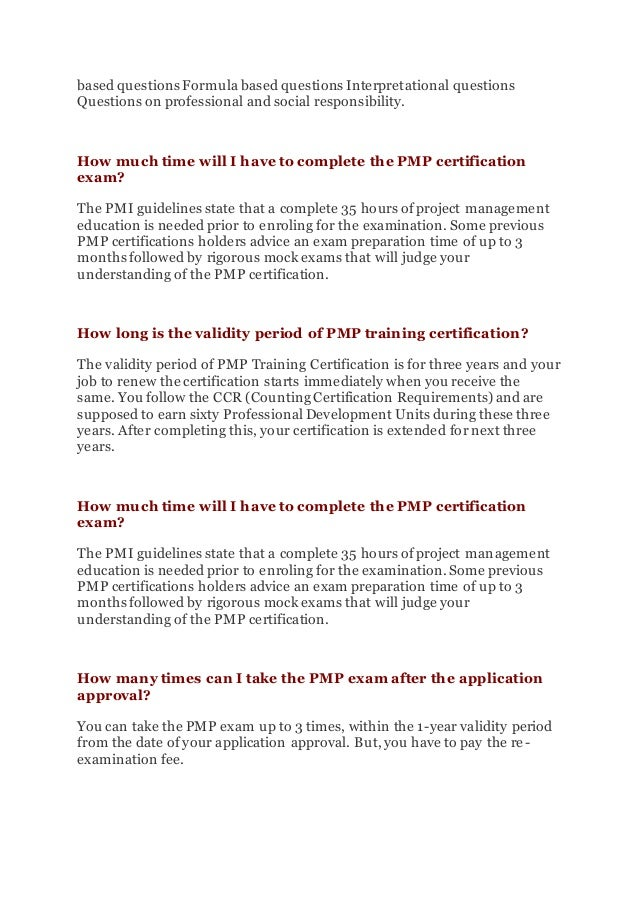 Pmp Certification In Kolkata