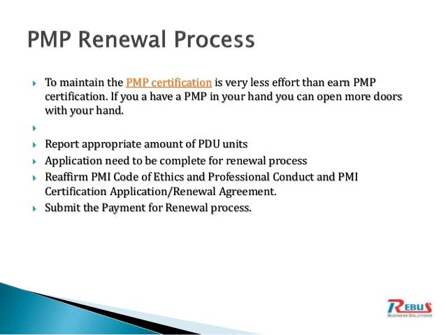 Introduction of PMP certification - Project Management Professionals