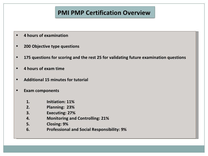 How To Pass Pmp Exam Pmp Certification Presentation