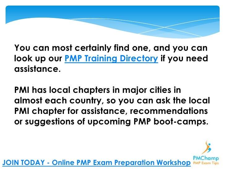 Pmp Exam Step By Step Study Plan