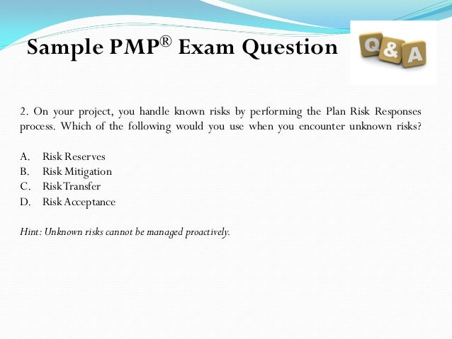 Pmp five sample questions answer and explanation 5 ccuart Image collections