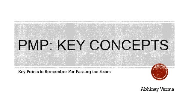 Key Points to Remember For Passing the Exam Abhinay Verma