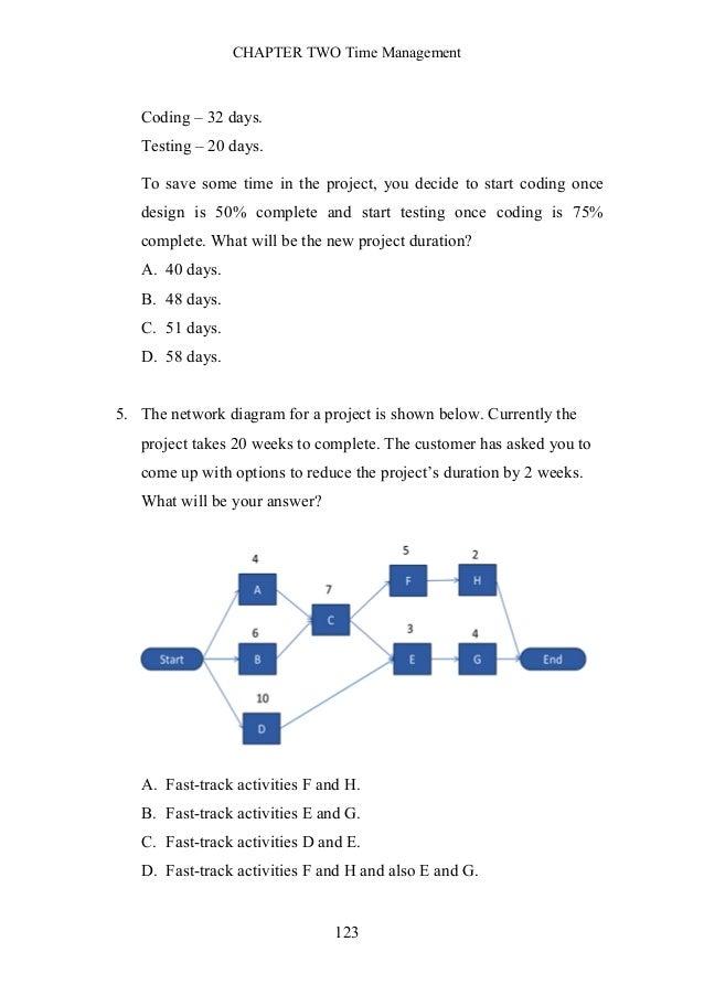 Pmp Network Diagram Sample Questions Diy Wiring Diagrams
