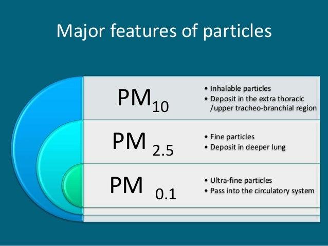 Particulate Matter Pollution