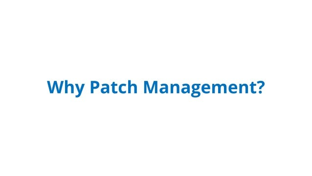 ManageEngine's Patch Manager Plus