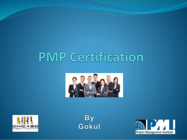 pmp project management professional presentation