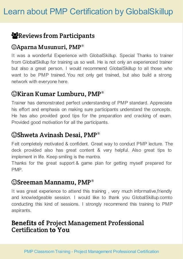 Pmp Training Course Handout