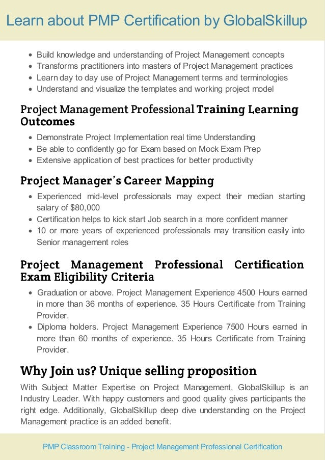 Pmp Training Course Handout