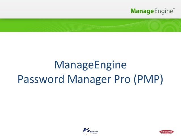 ManageEngine Password Manager Pro (PMP)