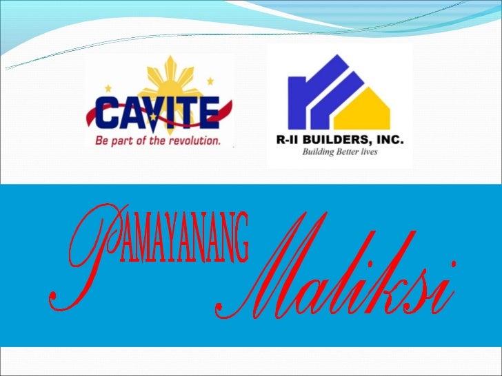 Area       :   538,117 square metersLocation   :   Pasong Kawayan II,               General Trias,Cavite