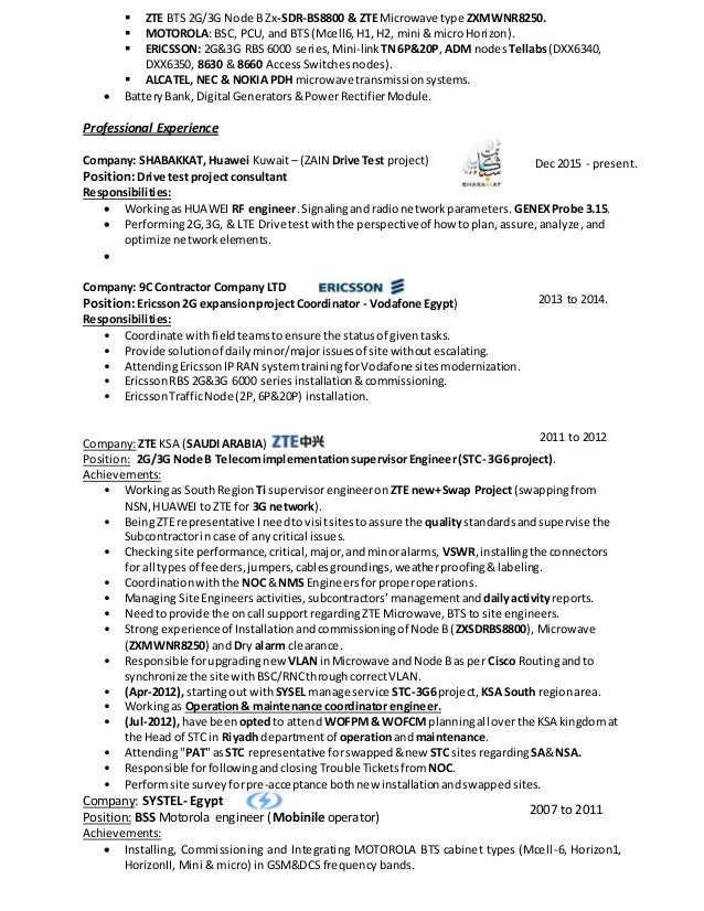 SlideShare  Rf Engineer Resume