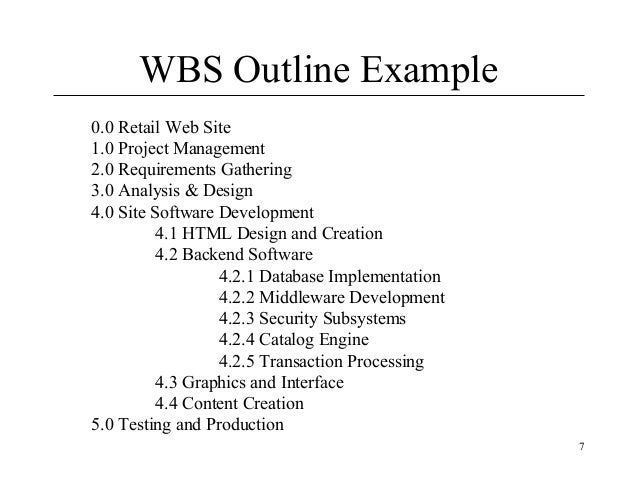 wbs on developing online website Do you need to create a wbs for a website development project a work breakdown structure (wbs) is a key tool used by project teams to clarify the work that is required for a given project.