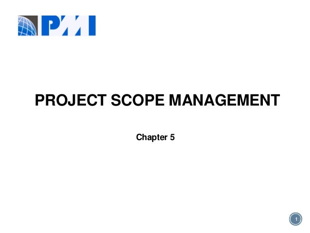 Pmp scope chapter 5