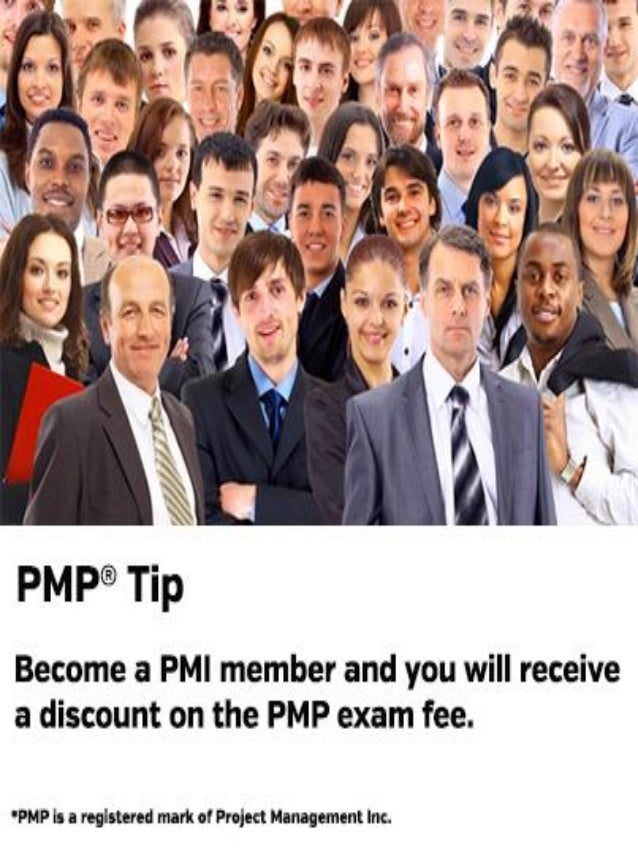 PMP Tip - Become a PMI Member