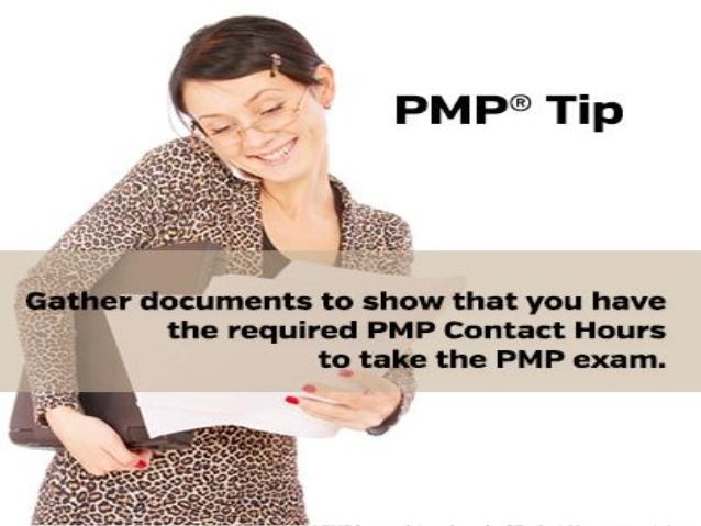 PMP Tip: Gather documents...